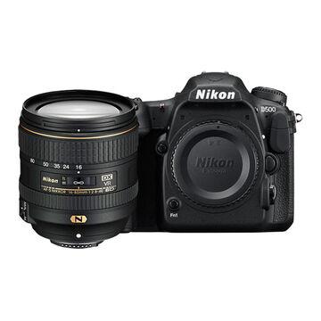 Nikon D500 Body with 16-80mm VR Lens - Black - 33902