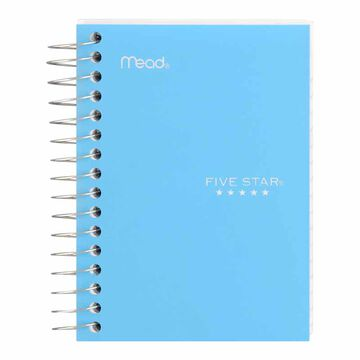 Mead Five Star Fat Lil' Notebook - 200 sheets - Assorted Colours
