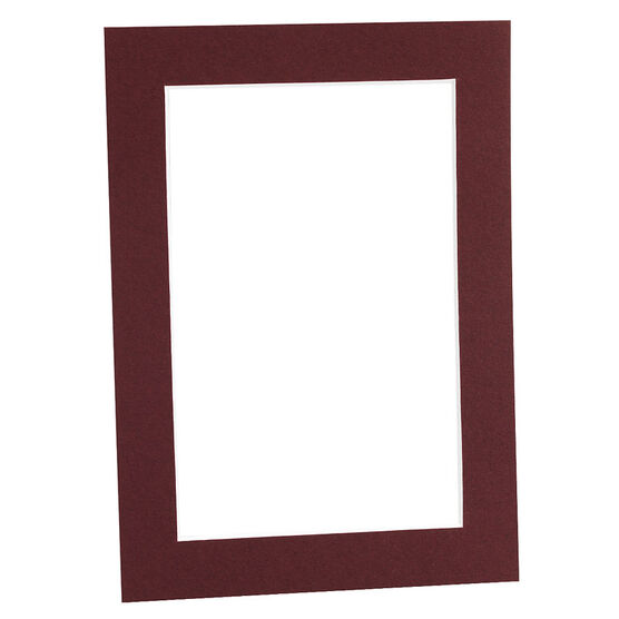Tempo 5x7 Mat Frame - Maroon