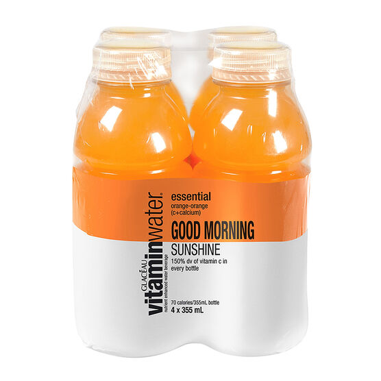 Glaceau Vitamin Water Essential - Orange Orange - 4x355ml