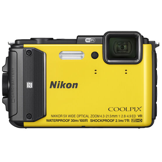 Nikon Coolpix AW130 - Yellow - 32364