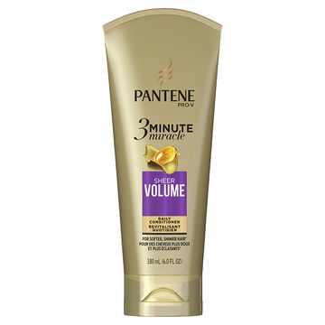 Pantene Pro-V 3 Minute Deep Conditioner - Sheer Volume - 180ml