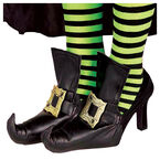 Halloween Witch Shoe Covers