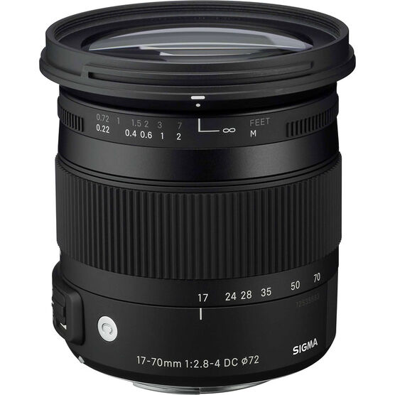 Sigma 17-70mm F2.8-4 DC Macro HSM Lens for Nikon - CAF1770DCN