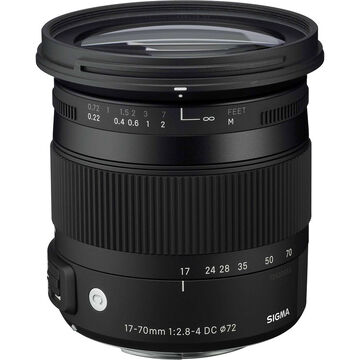 Sigma 17-70mm F2.8-4 DC Macro HSM Lens for Sony - CAF1770DCA