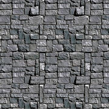 Halloween Stone Wall Backdrop