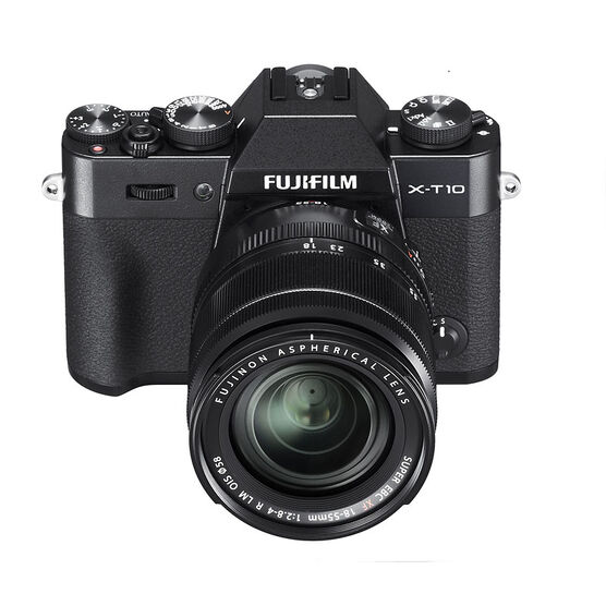 Fujifilm X-T10 with XF 18-55mm F2.8-4.0 Lens  - Black - 600015527