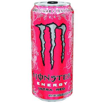 Monster Energy Drink - Ultra Red - 473ml