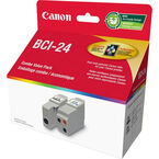 Canon BCI-24 Black and Colour Value Pack - 6881A042