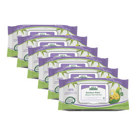 Aleva Bamboo Baby Wipes - 480s