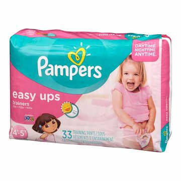 Pampers Easy Ups Trainers - Girls - 4T-5T - 33's/Mega