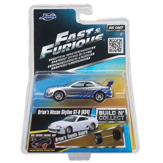 Fast & Furious Die Cast Vehicles - 1:55 Scale - Assorted