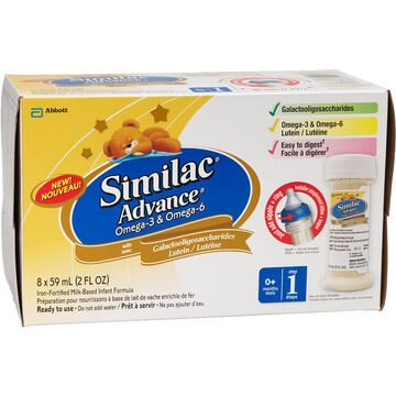 Similac Nursettes - 8 x 59mL