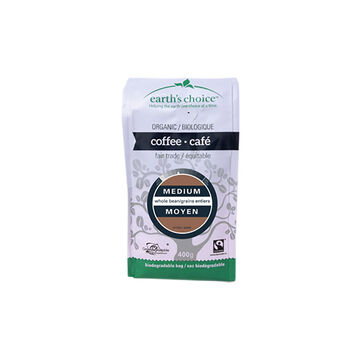 Earth's Choice Coffee - Medium Roast - 400g