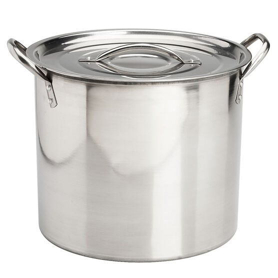 Stainless Steel Stockpot - 12Qt