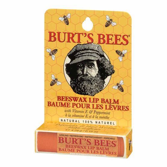 Burt's Bees Beeswax Lip Balm - 4.25g