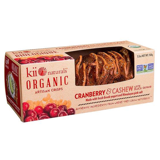 Kii Organic Crisps - Cranberry - 150g