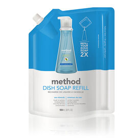 Method Dish Soap Refill - Sea Mineral - 1064ml