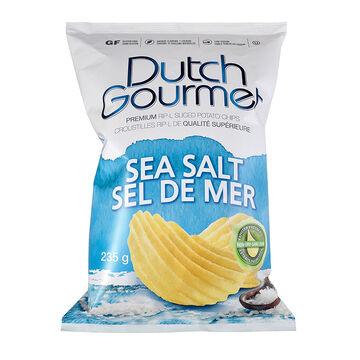 Dutch Gourmet Chips - Sea Salt - 235g