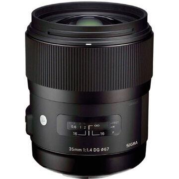 Sigma A 35mm f/1.4 DG Lens for Nikon  - A35DGN