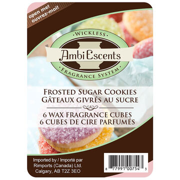 AmbiEscents Wax Cubes - Frosted Sugar Cookies