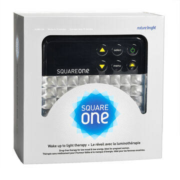 Nature Bright Square One Wake up Light Therapy