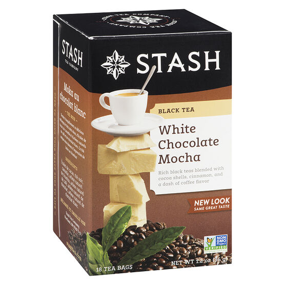 Stash Tea - White Chocolate Mocha - 18's
