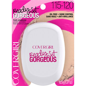 CoverGirl Ready Set Gorgeous Pressed Powder Foundation - Light