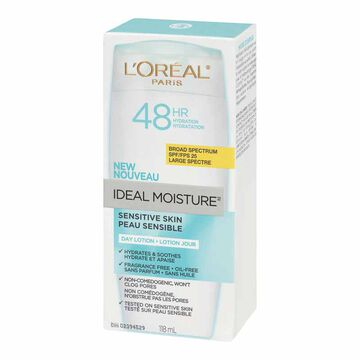 L'Oreal Moisture Sensitive Skin Day Lotion SPF 25 - 118ml