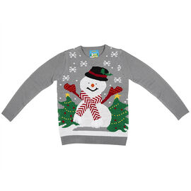 Details Ladies Ugly Christmas Sweater - Assorted