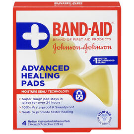 Johnson & Johnson Band-Aid Advanced Healing Pads - 7.6 x 5.7cm