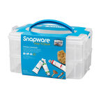Snapware Snap 'N Stack Portable Organizer - 2 layer - 6 x 9inch