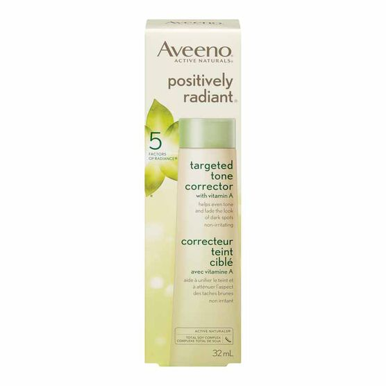 Aveeno Positively Radiant Targeted Tone Corrector - 32ml
