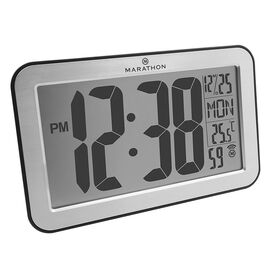 Marathon Panoramic Clock - CL030033SV