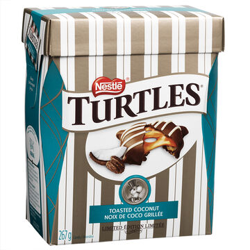 Nestle Turtles Toasted Coconut - 267g
