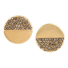 Kenneth Cole Disc Stud Earrings - Gold