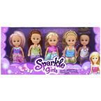 Sparkle Girlz - Little Hands Collection - Assorted - Set of 5