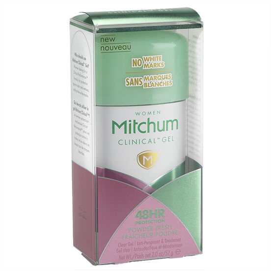 Mitchum Women Clinical Gel Anti-Perspirant - Powder Fresh - 57g