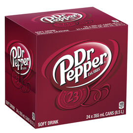 Dr. Pepper - 24 x 355ml cans