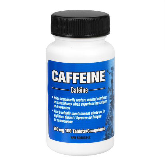 Caffeine Tablets - 200mg - 100's