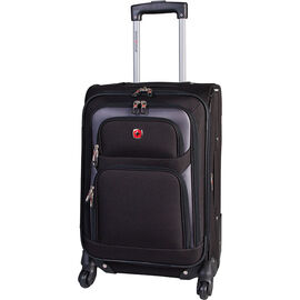 "SwissGear 20"" Upright Expandable Carry On - Black"