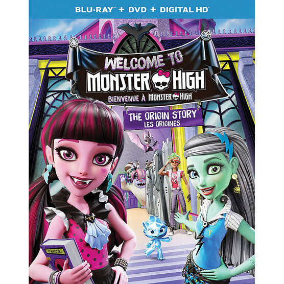Monster High: Welcome to Monster High - Blu-ray