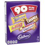 Cadbury Chocolate Fun Treats - 90's