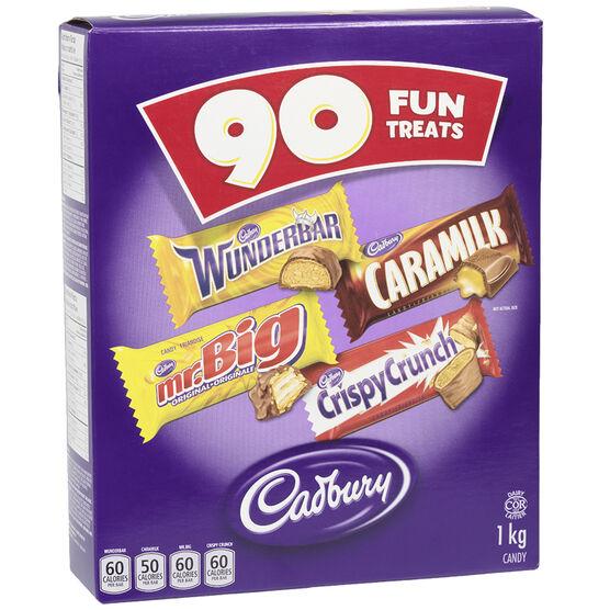 Cadbury Chocolate Fun Treats - 90's