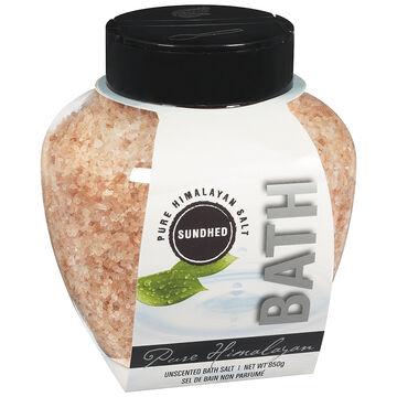 Sundhed Pure Himalayan Bath Salt - Unscented - 850g