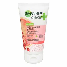 Garnier Clean Plus Balancing Daily Exfoliator - Combination Skin - 150ml