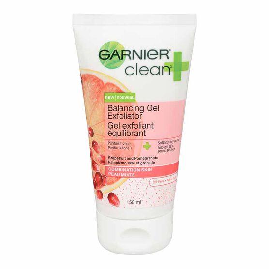Garnier Clean Plus Balancing Daily Exfoliator - Combination Skin - 150ml