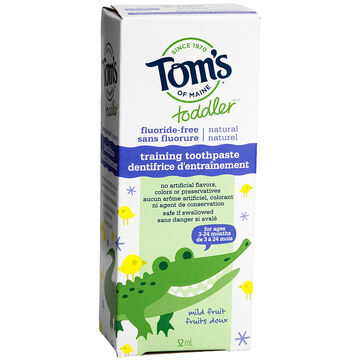 Tom's of Maine Toddler Training Toothpaste - 52ml