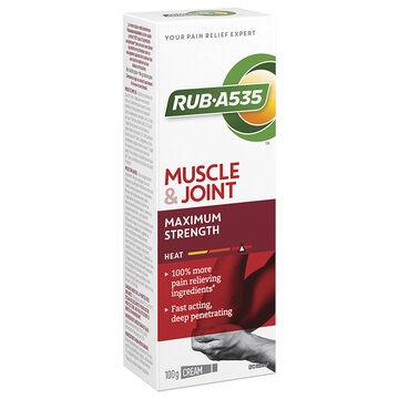 RUB A535 Maximum Strength Heating Cream - 100g
