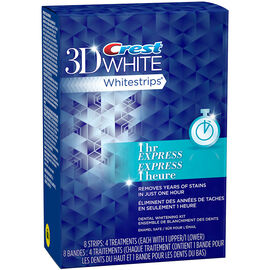 Crest 3D White Whitestrips - Express Kit